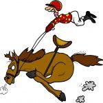 Plym Yacht Club Horse Racing Social Logo